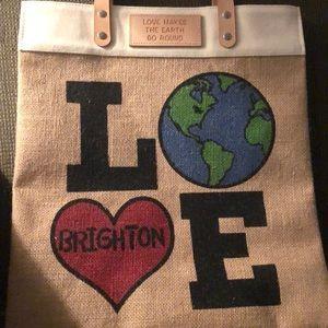 Brighton love the earth tote